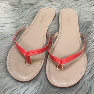 Banana Republic Coral Sandals-Size 9
